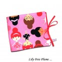 Album doudou photo personnalisable rose danseuses